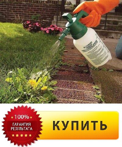 Как заказать средство для избавления от сорняков